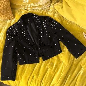 ✨ Michael Jackson inspired crop blazer! H&M ✨
